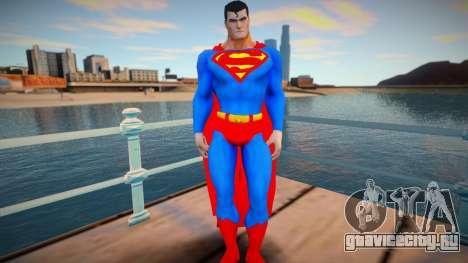 Superman DC Universe для GTA San Andreas