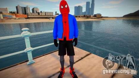 Spiderman Sportwear для GTA San Andreas