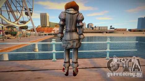 Pennywise skin для GTA San Andreas