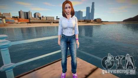 Sam Samsung Casual (Jeans) для GTA San Andreas