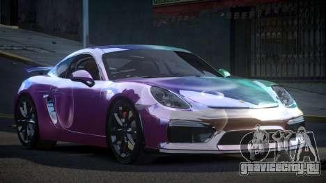 Porsche 718 Cayman GT4 S3 для GTA 4