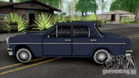 Perennial Sedan Version для GTA San Andreas