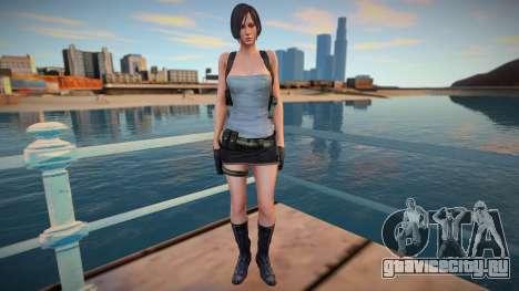 Ada Wong Jill RE2 для GTA San Andreas