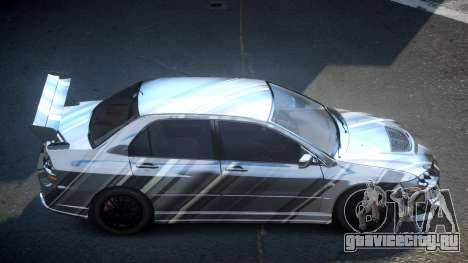 Mitsubishi Evo 8 U-Style S2 для GTA 4
