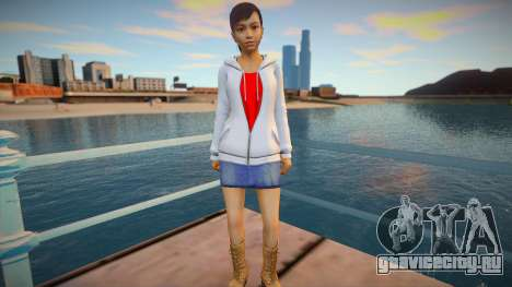 Haruka Sawamura - Yakuza 5 v2 для GTA San Andreas