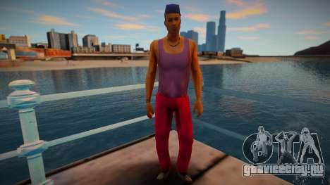 GTA VCS Peds Low Empire Vance Family v1 для GTA San Andreas