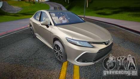 Toyota Camry V75 XLE 2021 для GTA San Andreas