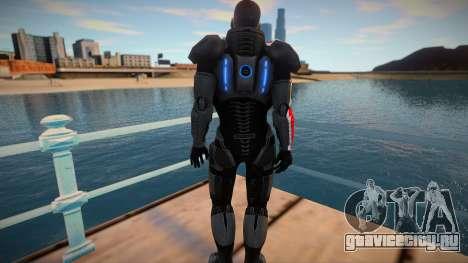 Comandante Shepard для GTA San Andreas