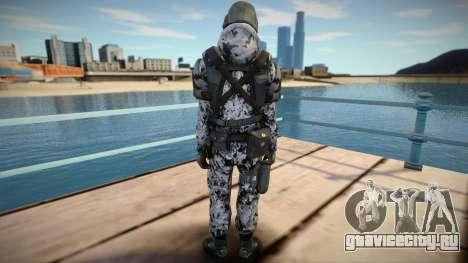 New Swat skin (good model) для GTA San Andreas