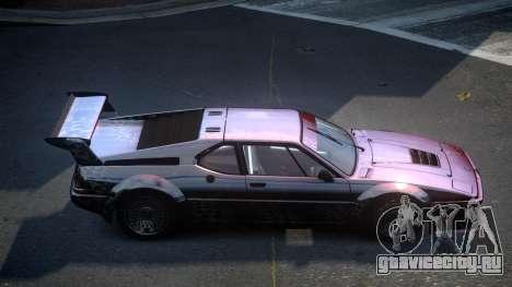 BMW M1 IRS S6 для GTA 4