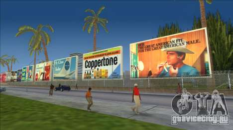 Реальные билборды 80-х для GTA Vice City
