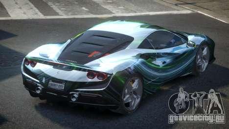 Ferrari F8 BS-R S3 для GTA 4