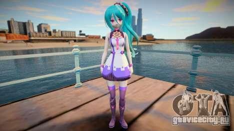 Neptunia Virtual Stars GTA SA skin v2 для GTA San Andreas