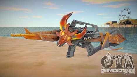 M4A1 Flama Free Fire для GTA San Andreas