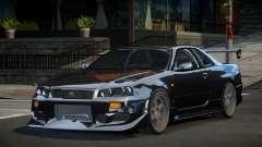 Nissan Skyline R34 PSI-S для GTA 4