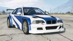BMW M3 GTR (E46) Most Wanted для GTA 5