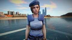 Jill Valentine (good skin) для GTA San Andreas