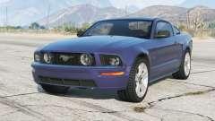 Ford Mustang GT 2005〡grey rims〡add-on для GTA 5