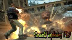 Powerful explosion V1.0 для GTA 4