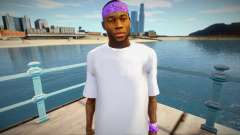 New Ballas1 skin для GTA San Andreas