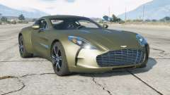Aston Martin One-77 2010 v2.0 для GTA 5