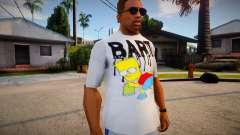 New T-Shirt - tshirt2horiz для GTA San Andreas