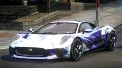 Jaguar C-X75 SP-U S8 для GTA 4