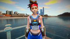 Tracer Sprint From Overwatch для GTA San Andreas