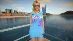DOA Helena Douglas Fashion Casual V2 Miami Heat для GTA San Andreas