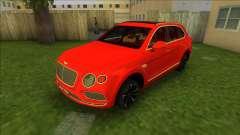 Bentley Bentayga 2021 для GTA Vice City