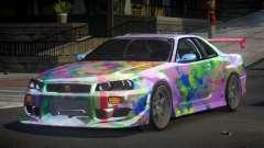 Nissan Skyline R34 PSI-S S10 для GTA 4