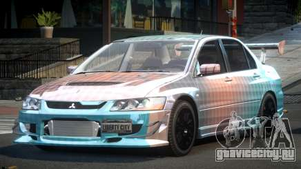 Mitsubishi Evo 8 U-Style S3 для GTA 4