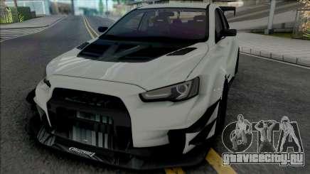 Mitsubishi Lancer Evolution X (SA Lights) для GTA San Andreas