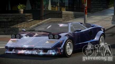 Lamborghini Countach GST-S S1 для GTA 4