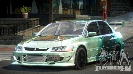 Mitsubishi Evo 8 U-Style S6 для GTA 4