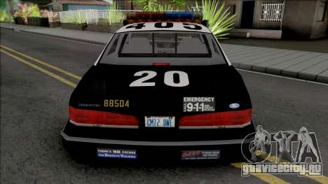 Ford Crown Victoria 1995 CVPI LAPD v2 для GTA San Andreas