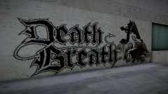 Horror Graffiti Around and road для GTA San Andreas