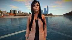 Skyrim Girl Monki Combat 6 для GTA San Andreas