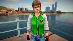 Dead Or Alive 5 - Hitomi (Costume 2) v3 для GTA San Andreas