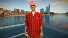 Модник Вузи для GTA San Andreas
