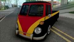 Camper Pickup для GTA San Andreas