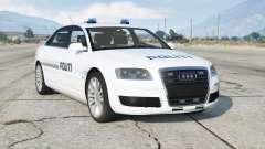 Audi A8 L 6.0 quattro (D3) 2005〡Danish Police для GTA 5