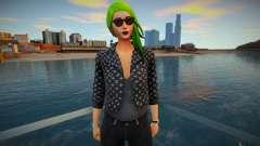 Fortnite - Toxin Fashion Casual V2 Jacket LV для GTA San Andreas