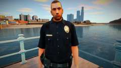 New lapd1 skin для GTA San Andreas