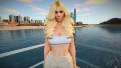 Helena Douglas Casual v8 для GTA San Andreas