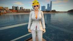 Dead Or Alive 5 - Christie (Costume 2) v4 для GTA San Andreas