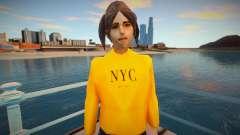 Девушка в модном свитере для GTA San Andreas