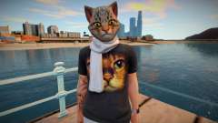 Man cat from GTA Online для GTA San Andreas