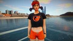 Fortnite - Fastball Fashion Casual V1 Orioles Ba для GTA San Andreas