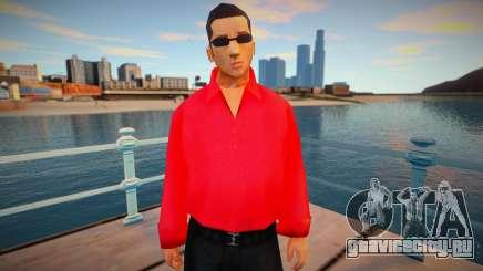 Вузи в красной рубашке для GTA San Andreas